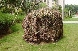 elecfan Désert Camouflage, armée tir Camping Chasse Militaire Cacher Jungle des Bois, désert, Camouflage Camouflage 6m x 6m Camo Filet (6M * 6M, A05)