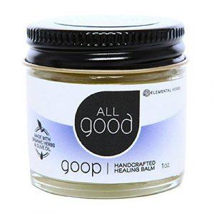 Elemental Herbs All Good Goop Organic Healing Balm, 1 Ounce by NATURE'S BEST