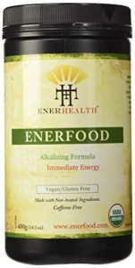 ENERFOOD ORGANIC GREEN SUPERFOOD POWDER 14.1 oz by EnerHealth Botanicals