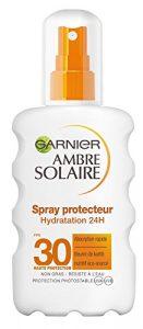 Garnier Ambre Solaire Spray Protecteur Hydratation 24h FPS 30 200 ml