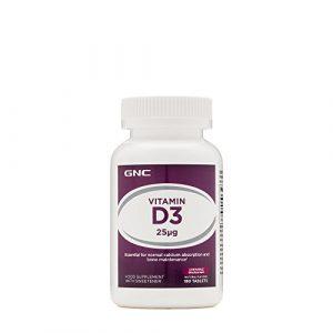 Gnc Vitamine D3 25 MCG