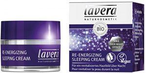 lavera Crème de Nuit Re-energizing Sleeping Cream – Vegan – Cosmétiques naturels – Ingrédients végétaux bio – 100% naturel 50ml
