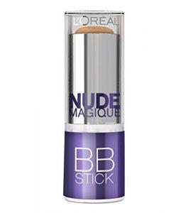L'Oréal Paris Nude Magique BB Crème Application Stick Peau Médium à Mate 36 g
