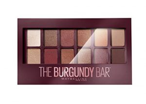 Maybelline New York Palette Fards à Paupières The Burgundy Bar