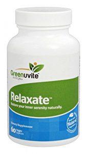 Relaxate anti-anxiété – Complément anti-stress et anti-anxiété 100 % naturel – 60 capsules végétariennes – Votre meilleur complément à base de plante contre les crises d'angoisse et la dépression. Complément apaisant et relaxant