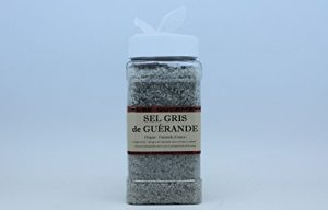 Aube-Gourmet Sel de Guérande en distributeur de 500 grammes