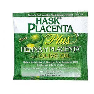 Hask – Traitement Capillaire – Plaquette à l'huile d'olive 59 ml ( Boîte de 12 )