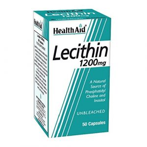 HealthAid Lecithin 1200mg – 50 Capsules