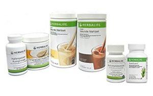 Herbalife Shape Works Plus–Programme de contrôle du poids avec terre Protéines Part–6pièces avec protéines demande Calculatrice–Goût de pomme cannelle édition limitée d'hiver