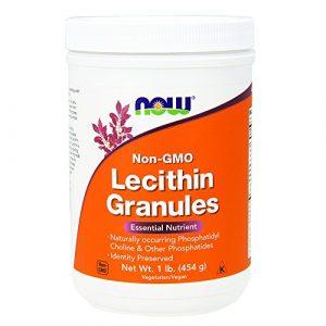 Now Foods, Granules de Lécithine, Non-GMO, 1 lb (454 g)