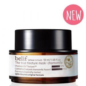 belif 2016 The True Tincture Mask chamomile