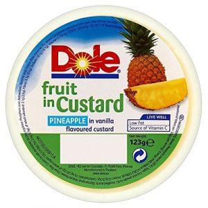 Dole Fruits Dans La Crème D'Ananas (123G)