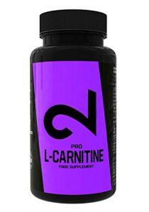 DUAL Pro L- CARNITINE| Qualité Premium: laboratoire certifié | 500 mg de L-Carnitine par capsule | Augmente Puissance, Focus et Efficacité | Supplement alimentaire sportif pour minceur| 100 super capsules | Végétaliens, sans Gluten et Lactose | Fabriqué dans l'UE