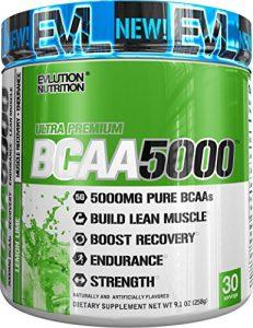 Evlution Nutrition BCAA 5000 | Supplément Protéine En Poudre Contenant 5 Grammes de BCAA de Haute Qualité | 30 Dosages | A Saveur De Citron Et Lime (Lemon Lime)