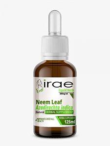 Feuilles de neem Azadirachta indica 1:2 25% Alc Herb liquide 250ml