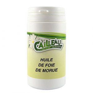 Floranjou – Capsule molle d'Huile de Foie de Morue – 50 capsules