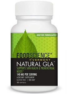 Foodscience du Vermont Naturel GLA, Cassis Graines de complément alimentaire, 90Soft gels