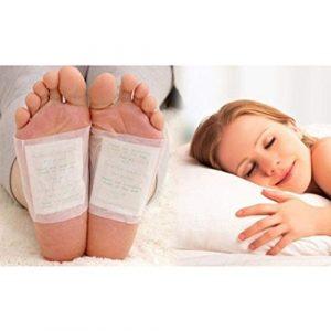 fwehfefh Detox patch detox soins des pieds relaxation soins de santé supprimer corps toxines perte de poids pression soulagement pied