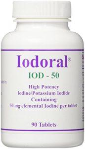 Iodoral, 50 mg, 90 comprimés – Optimox Corporation