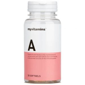 Myvitamins Vitamin A, 90 Soft Gels (90 Softgels) – Myvitamins