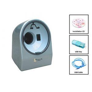 Project E Beauty Haute qualité et haute précision Détecteur de lumière Magic Mirror faciale peau Analyzer Analyseur