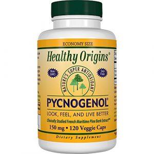 Pycnogenol, 150 mg, 120 Veggie Caps – Healthy Origins