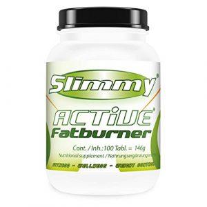 SLIMMY – Diète faible en glucides Brûleur de graisse – SLIMMY ACTIVE Fatburner, 300 comprimés