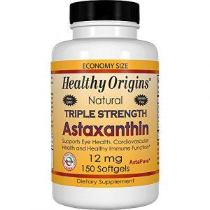 Triple astaxanthine Force, 12 mg, 150 Softgels – Healthy Origins