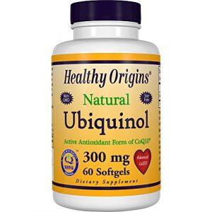 Ubiquinol (Kaneka QH), 300 mg, 60 Softgels – Healthy Origins