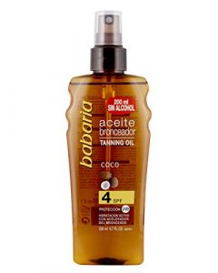 Babaria Bronzing Oil with Coconut SPF 4 200ml
