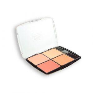 Body Collection Quad Palette de blush et pinceau applicateur de blush