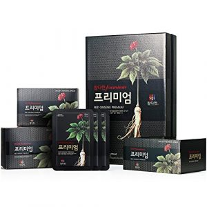 Chamdahan Noir coréen ginseng rouge haut de gamme (50 ml x 30 Pouches)