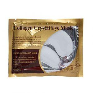 Demino 1Paire de Cristal du collageno Paupière de l'humidité Anti Rides Eye Mask Circles