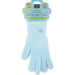 Earth Therapeutics: Aloe Infused Moisture Gloves, Blue (2 pack) by Earth Therapeutics