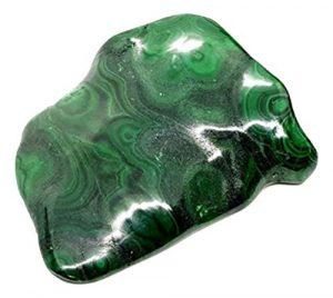 Eclectic Shop Uk Pierre précieuse Malachite Cristal Specimen 775grammes (0.775kg) minérale Gem Idéal Cadeau de Luxe