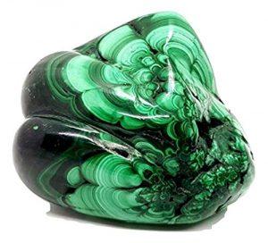 Eclectic Shop Uk véritable Malachite pépite Cristal Specimen 405grammes (0.405kg) minérale Gem