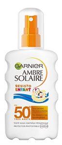 Garnier Ambre Solaire Resisto Enfant Spray Hydratant FPS 50+ 200 ml