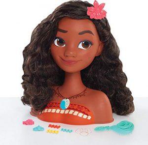 IMC Toys – Tête à coiffer Vaiana – 211520 – Disney