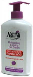 Natural Formula Hair Cream Classic Jojoba, Pro-Vitamin B5 – 400 ml by careline prod