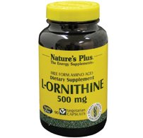 Nature s plus – L-ornithine – 90 gélules – Compense les carences en protéines