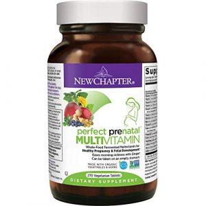 New Chapter Perfect Prenatal Complément alimentaire Grossesse saine et développement du fœtus Trimestre