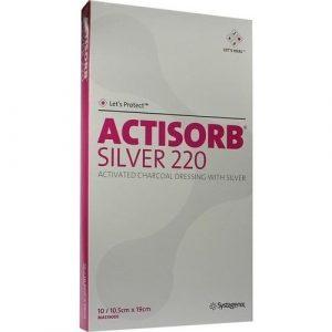 ACTi Sorb 220Silver 19x 10,5cm Compresses stériles 50St