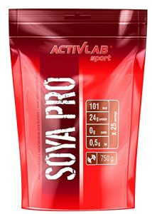 Activlab Protéines de Soja Strawberry 750 g