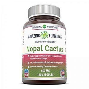 Amazing Nutrition Nopal Cactus 650 Mg 180 Caps