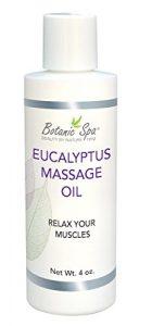 Botanic Spa d'eucalyptus Huile de massage, 3cl (lot de 4)