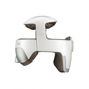 Breo Electric Head & Eye Appareil de massage intelligente casque cerveau Auge Collier d'acupression Massage avec vibrations Relax Acupuncture points et musique