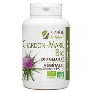 Chardon Marie Bio 300 mg – 200 gélules végétales