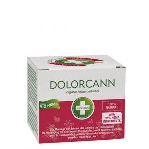 Dolor Cann Pommade, chanvre Baume pour la peau Massage dans le domaine les articulations, tendons, muscles et dos, 50ml