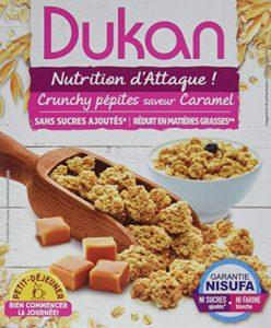 Dukan Pépites de Son d'Avoine Saveur Caramel 350 g – Lot de 7