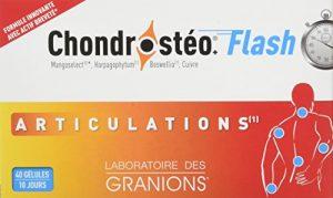 GRANIONS Chondrosteo+ Chondrotoïne Flash Présentoir x 12